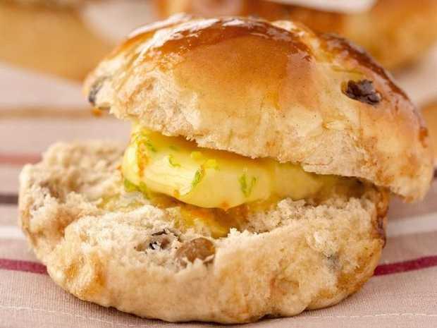 Pick up some free hot cross buns tomorrow.