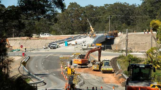 pacific highway upgrade valla . Nambucca heads to Valla16 SEPT 2015Photo Trevor Veale / Coffs Coast Advocate