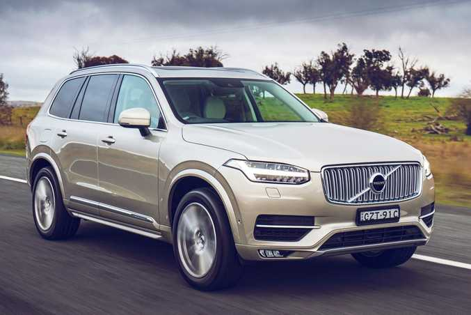 Volvo's seven-seat XC90 in T6 Inscription guise, boasting a 2.0-litre four-cylinder supercharged and turbocharged petrol engine and costs just over $100,000.