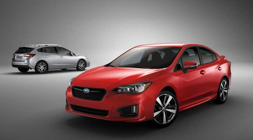 Subaru's fifth generation Impreza has been revealed at the New York International Auto Show. Photo: Contributed