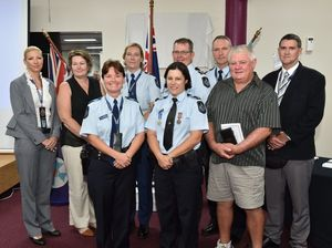 VIDEO: Fraser Coast police officers recognised for service
