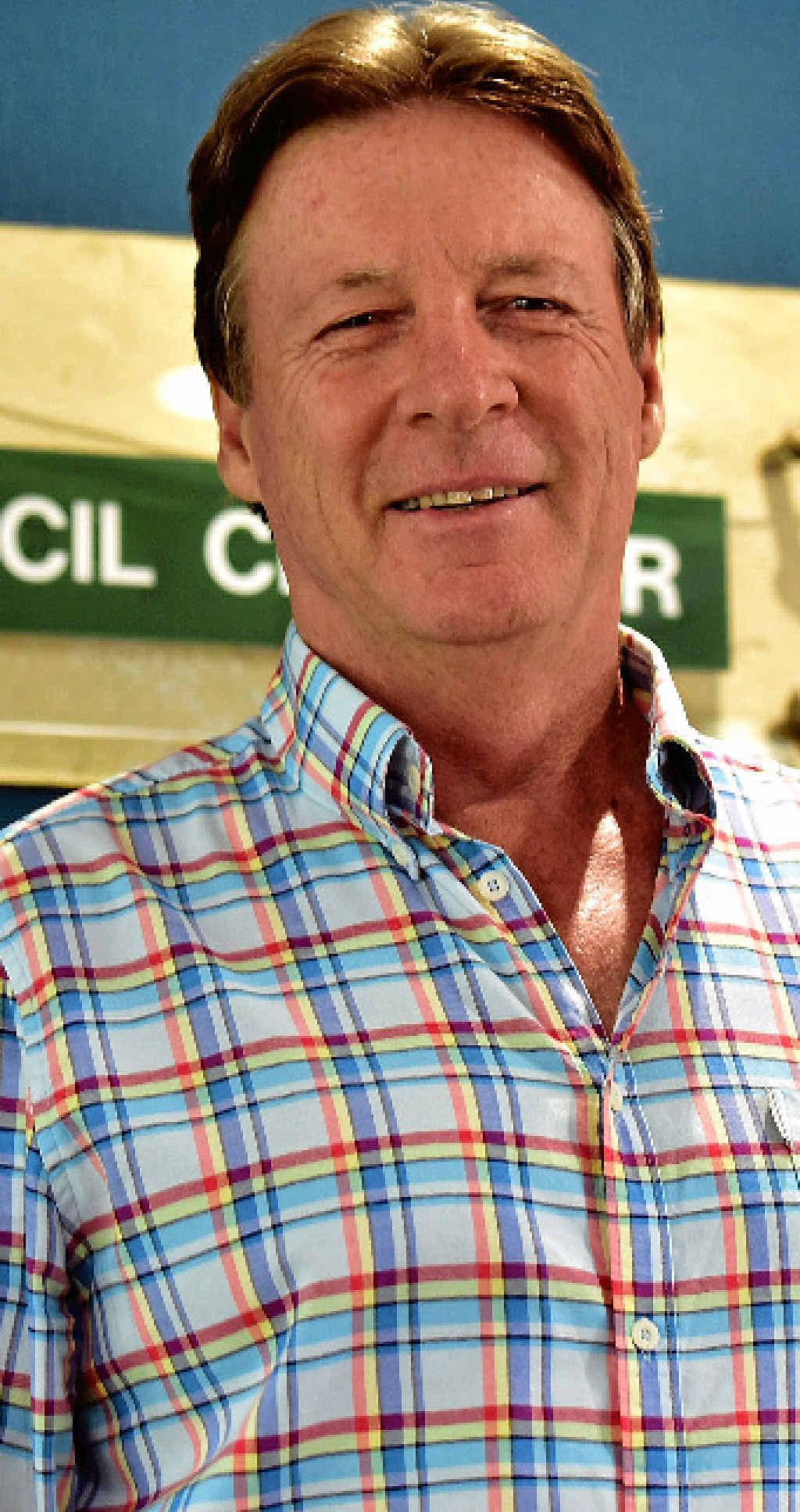 MOST LIKELY: The likely Noosa Mayor elect Tony Wellington.