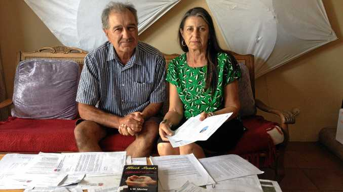 Dr Paul Malouf and North Coast MLC Jan Barham met to discuss community concerns about soil contamination at Mooball.