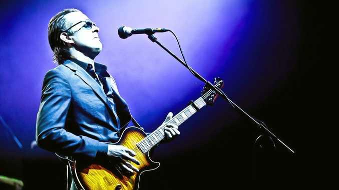 HEADLINER: Joe Bonamassa is an American blues rock guitarist, singer and songwriter.