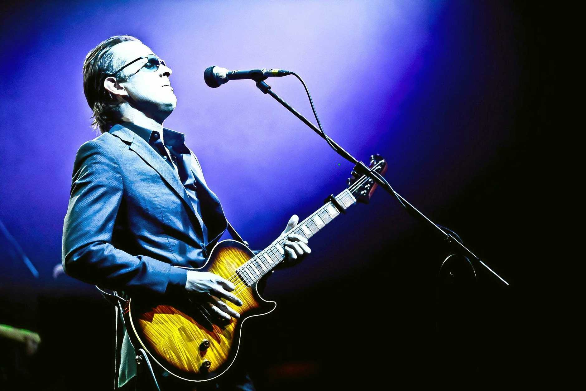 HEADLINER: Joe Bonamassa is an American blues rock guitarist, singer and songwriter.