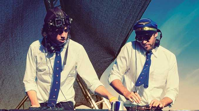 GET ON BOARD: Flight Facilities will be in Byron Bay this weekend.