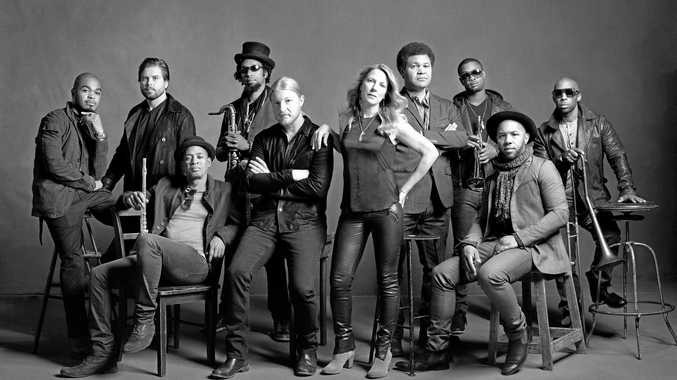 The Tedeschi Trucks Band ' formerly known as the Derek Trucks & Susan Tedeschi Band ' is a blues rock group based in Florida, USA.