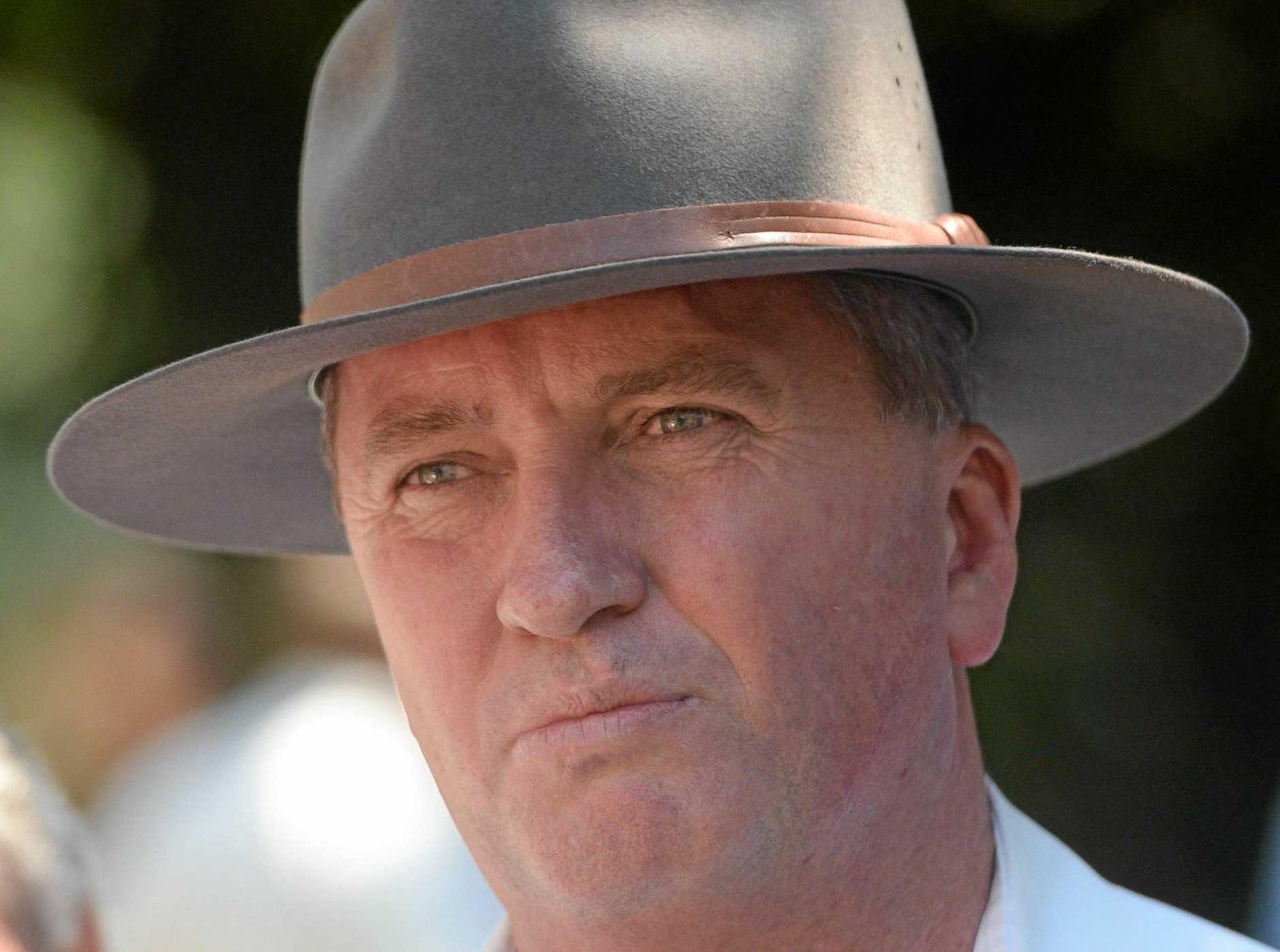 Federal MP Barnaby Joyce