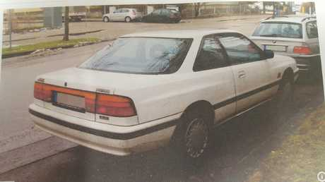 The man was driving a car similar to this.