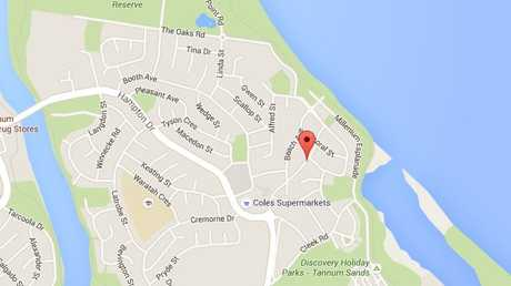 The attempted abduction occurred on Pacific Avenue at Tannum Sands. Source: Google Maps.