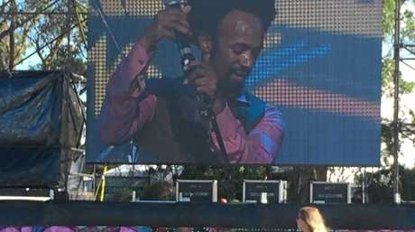 Fantastic Negrito, stage name for Xavier Dphrepaulezz, is an American musician who blends blues, rock and punk.