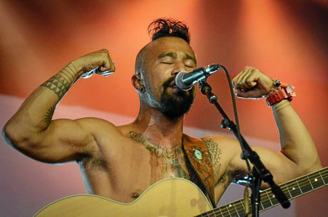 APRIL BLESFEST: Bluesfest 2014 kicks off in style. Thousands flock to multi-award winning music festival. Among the performers is Nahko and Medicine for the People.