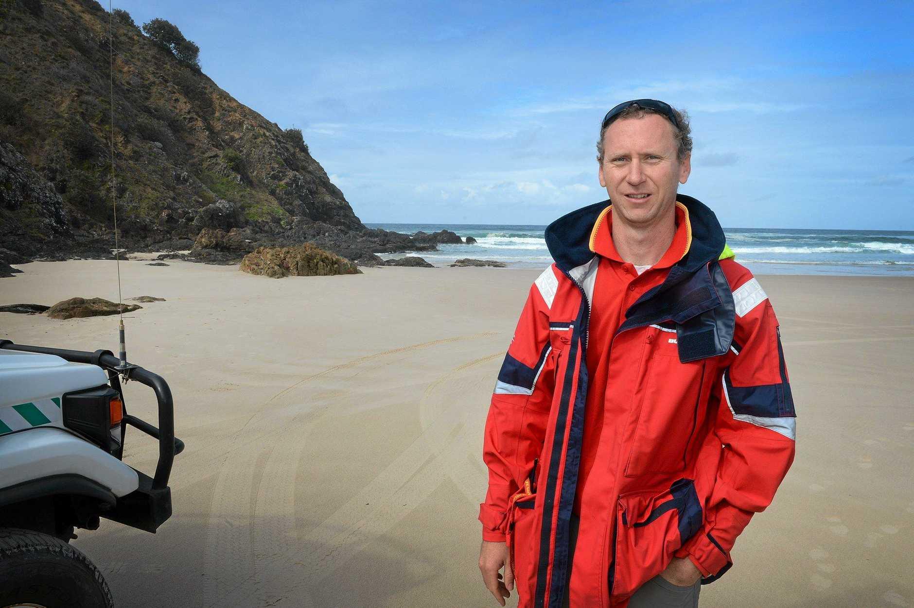 Jimmy Keough, surf life saving Far North Coast.Photo : Mireille Merlet-Shaw/The Northern Star