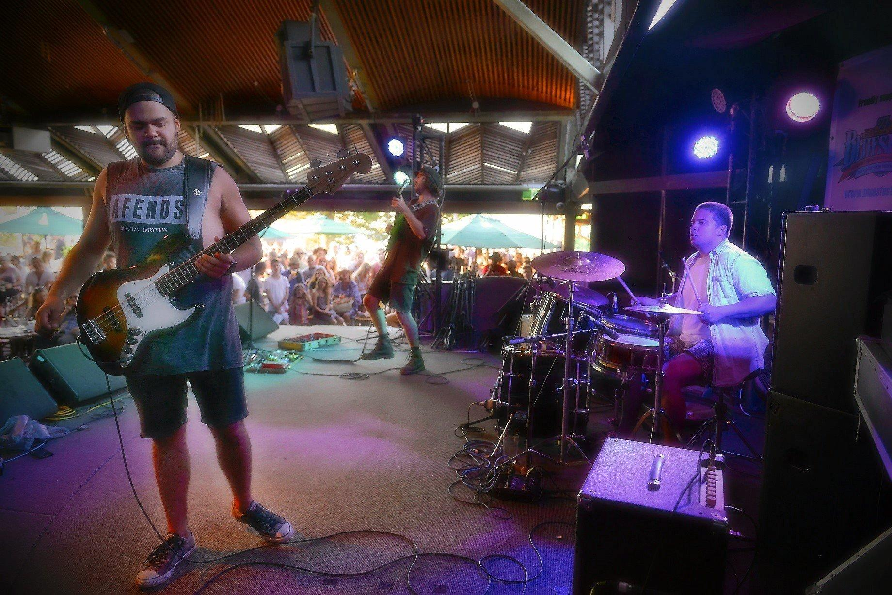 NSW Central Coast rock band Ivy at the Beach Hotel in Byron Bay this weekend.