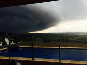 Tiffany Hawkins took this picture of the storm at Mcleans Ridge