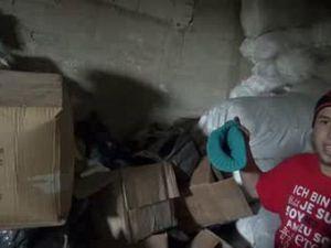 Oliver Bridgeman's crib in Syria