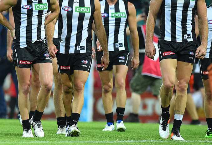 Collingwood isn't the only club to have players test positive for illicit drugs. Photo: AAP Image.