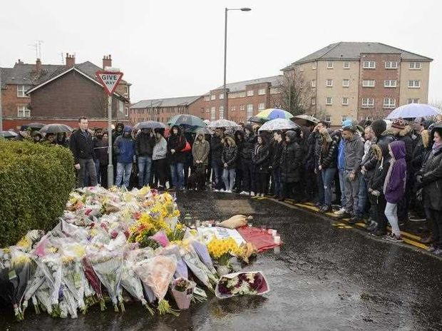 "Scottish police say the killing of a Muslim shopkeeper who wished Christians a happy Easter is being investigated as ""religiously prejudiced."" Vigils were held Friday and Saturday in memory of 40-year-old Asad Shah, who was killed Thursday night in Glasgow."