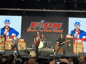 Eagles of Death Metal rock the memories away in Byron Bay