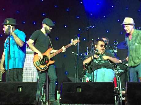 Northern Rivers band Brotherhood of the Blues is formed by artists of mixed abilities.