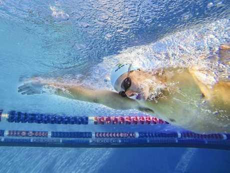 Charlie Steele - broke 50m freestyle record at the Grafton Pool set in 1956 by John Hendricks.
