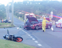PHOTOS, VIDEO | Motorbike collides with car in Gladstone