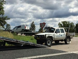 Man taken to hospital after accident at Cowper