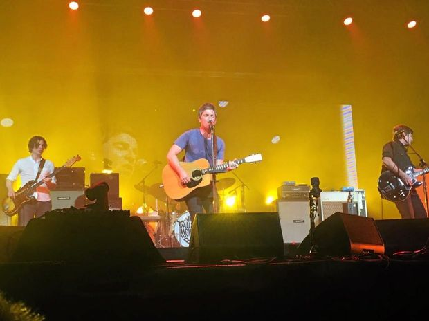 Noel Gallagher and his High Flying Birds played on Sunday night at Bluesfest