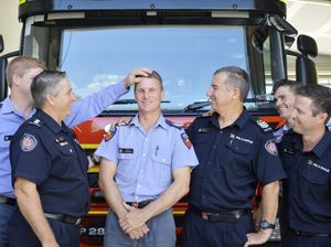 Firefighter revived by colleagues