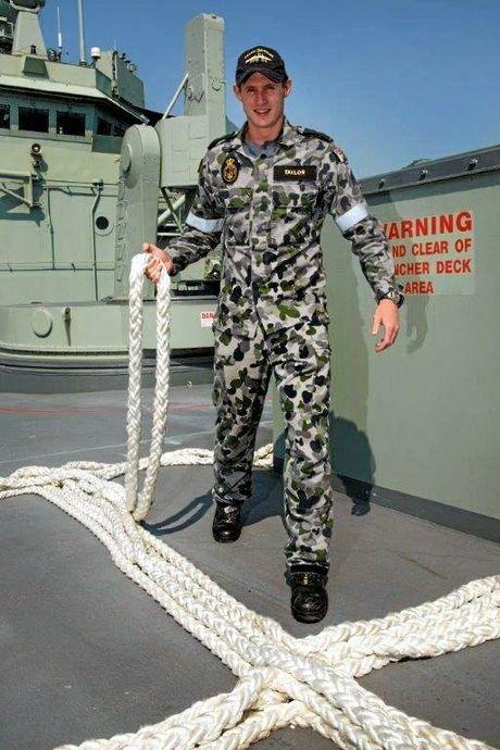 Murwillumbah local Able Seaman Simon Taylor