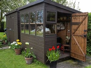 Love your garden, love your shed
