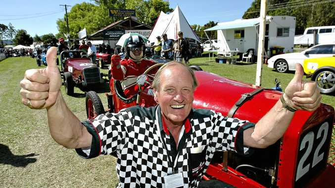 Speed on Tweed founder Roger Ealand, who died recently, was car racing up until a year ago.