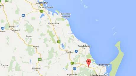 The record speed was clocked at Cherwell on the Fraser Coast.