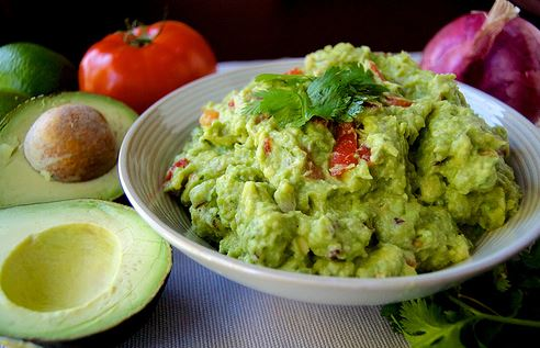 Jim and Lois Carney's guacamole Recipe.