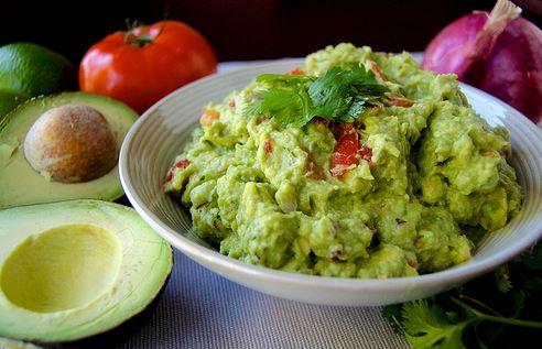 Jim and Lois Carney's guacamole Recipe.