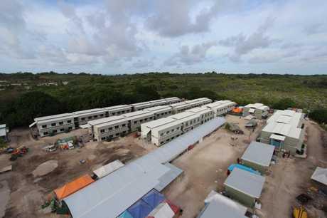 The Nauru facility.