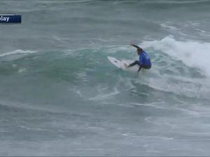 Surfing: Wright, Wilkinson progress in Rip Curl Pro