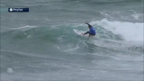The Rip Curl Pro at Bells Beach in Victoria