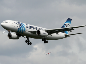 "EgyptAir flight MS804 ""swerved "" before disappearing"