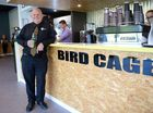 Professor Scott Bowman at the opening of the Bird Cage at CQUniversity. Photo Allan Reinikka / The Morning Bulletin