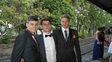 It's believed Murwillumbah High School's 2015 Vice Captain, James Taylor (right), has died in a rock climbing accident in Victoria.
