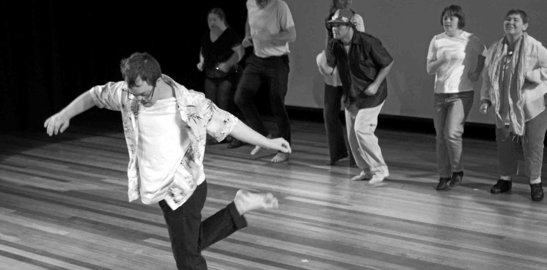 SPRUNG INTO ACTION: The Sprung integrated dance and drama group is back on the stage for 2016.Photo Contributed