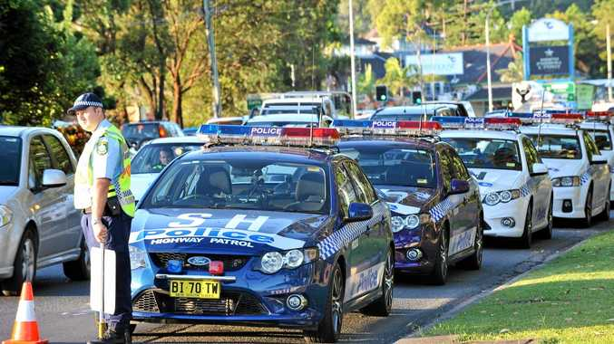 Police blitz Easter drivers. Photo: Trevor Veale / The Coffs Coast Advocate.