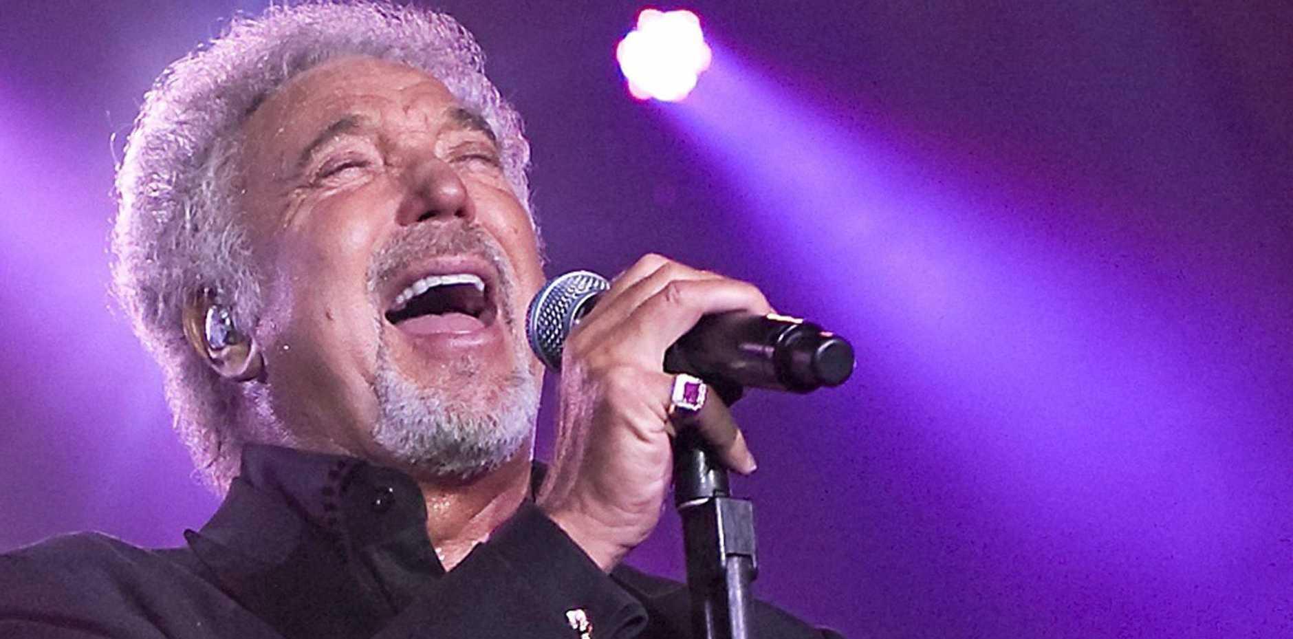 Singer Tom Jones.