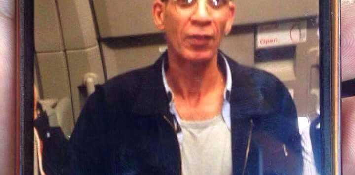 An image appearing to show EgyptAir hijacker Seif Eldin Mustafa