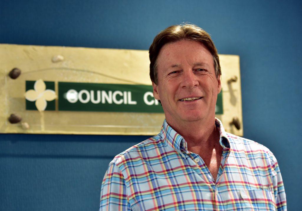 Noosa Mayor elect Tony Wellington.