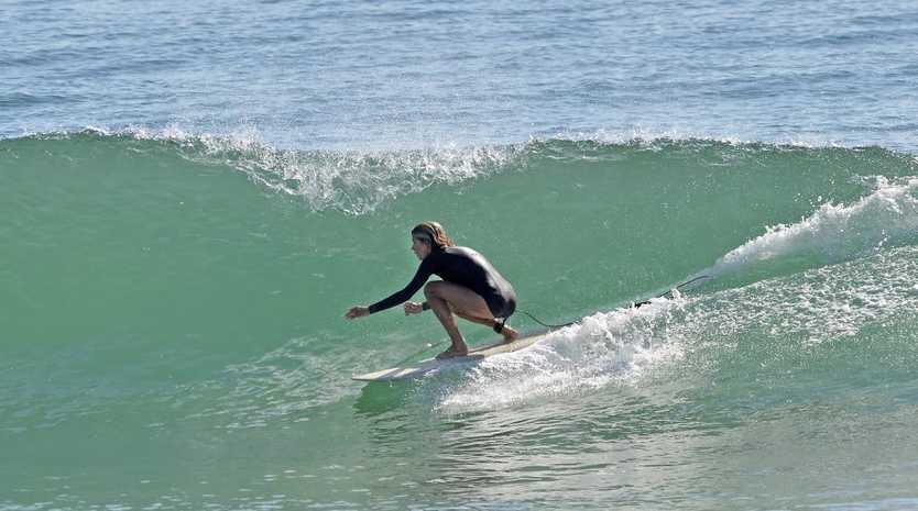 Wave of the day. Alexandra Headland