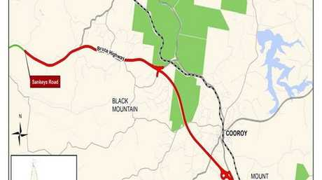 The new Cooroy northern interchange on the Bruce Hwy will open on April 11.