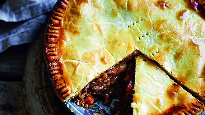 Now here's a pie to lift the spirits ...