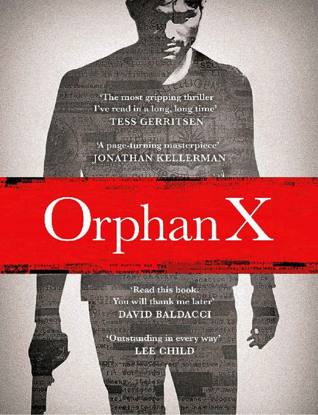 Orphan X by Gregg Hurwitz is published by Penguin Books.